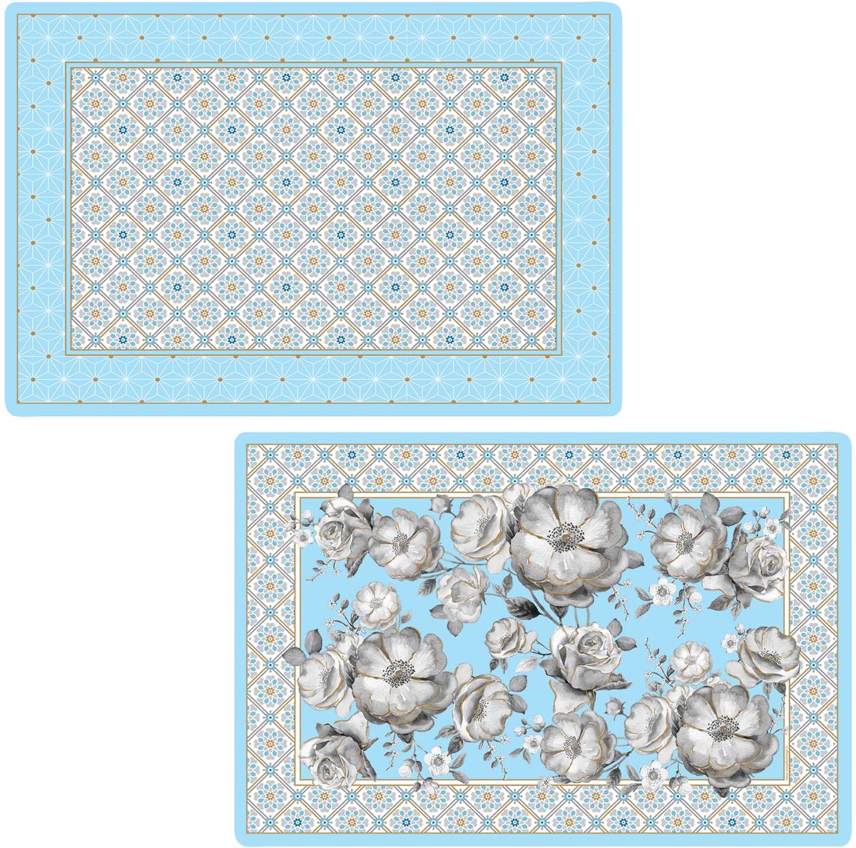 Набор салфеток под горячее Easy Life Цветовая палитра, цвет: голубой, 45 х 30 см, 4 штEL-R0172/TCLIНабор Easy Life Цветовая палитра, состоящий из 4 салфетокпод горячее, идеально впишется в интерьерсовременной кухни.Салфетки, выполненные изпластика, невпитывают влагу, легко моются, выдерживают температуру до 100°С. Каждая хозяйка знает, что салфетка под горячее -это незаменимый и очень полезный аксессуар накаждой кухне. Ваш стол будет не только украшеноригинальной салфеткой, но и сбережен отвоздействия высоких температур ваших кулинарныхшедевров. Размер салфетки: 45 см х 30 см. Итальянская компания Easy Life (Nuova R2S) - является лидером производства кухонной посуды и аксессуаров для дома в Италии. Центральныйофис компании находится в Италии, производство расположено в Италии и Китае. Концепция выпускаемой продукции заключается в создании единой дизайнерской линии предметов сервировки стола, оформленияинтерьера кухни или столовой комнаты. Вся продукция производится из современных и экологически чистых материалов: фарфора, стекла,пластика идерева. Продукция компании Easy Life (Nuova R2S) отличается современным дизайном, и легкостью в эксплуатации. Компания работает в тесномсотрудничестве с лучшими итальянскими художниками и дизайнерами.