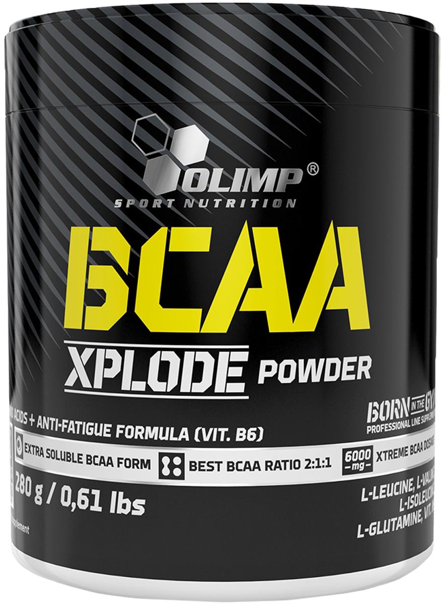 Комплекс аминокислот (BCAA) Olimp BCAA Xplode, лимон, 280 гO61387Olimp BCAA Xplode - комплекс аминокислот с разветвленной цепью с витамином В6. Состав высококачественных аминокислот с разветвленной цепью (лейцин, валин, изолейцин) в пропорции 2:1:1, обогащенный L-глютамином и витамином В6. Olimp BCAA Xplode - стимулируют белковый синтез,повышают выносливость мышц, защищают мышцы от разрушения кортизолом,сжигают жир, повышают уровень глютамина в мышечной ткани, укрепляют иммунитет. ВСАА XPLODE POWDER — это аминокислоты с нетипичной ветвистой структурой. К ним относятся лейцин, изолейцин, валин. Каждый, кто принимал ВСАА, подтвердит: они работают! Так же BCAA подавляет секрецию кортизола, уменьшает мышечные боли. Очевидный анаболический эффект ВСАА, как предполагали до недавнего времени ученые, объясняется тем,что все три аминокислоты являются активными участниками белкового синтеза. Причем, лейцину и вовсе принадлежит командная роль. Он подает сигнал к началу строительства нового белка внутри мышечной клетки. Дальнейшее изучение ВСАА показало, что все куда проще и одновременно сложнее. ВСАА подавляет секрецию кортизола, давая вырваться вперед анаболику-тестостерону. Одновременно ученые установили, что прием ВСАА существенно уменьшает посттренировочные боли в мышцах.Рекомендации по применению:1-2 порции в день - перед едой или перед и после тренировки или перед сном.Рекомендации по приготовлению:10 г порошка (25 единиц измерения мерной ложки), растворить в 200 мл воды. Принимайте непосредственно после приготовления. Состав: свободные аминокислоты (L-лейцин, L-валин, L-изолейцин), L-глутамин, ароматизатор, регуляторы кислотности - лимонная кислота, цитрат натрия, загуститель - камедь акации, подсластители - цикламат натрия, натрия сахарин, ацесульфам K, сукралоза, эмульгатор - лецитин, витамин B6 (пиридоксина гидрохлорид), краситель.Товар сертифицирован.Как повысить эффективность тренировок с помощью спортивного питания? Статья OZON Гид