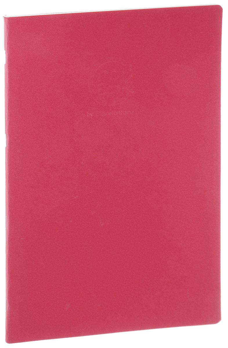 Блокнот Clairefontaine Crok Book, формат A4, цвет: красный, 24 листа6032С_красныйБлокнот Clairefontaine Crok Book, формат A4, цвет: красный, 24 листа