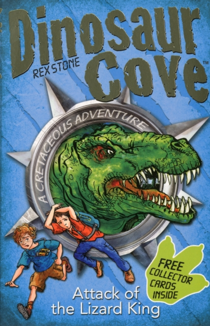 Dinosaur Cove Cretaceous 1: Attack of the Lizard King (Reissue) timberk ac tim 05c w1m