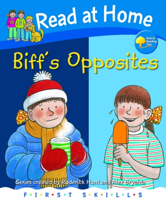 Read at Home: Biff's Opposites rabbits in the snow a book of opposites