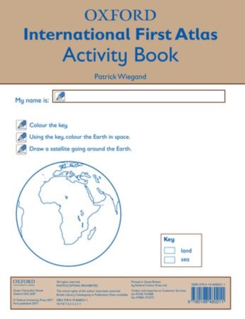 Oxford International First Atlas Activity Book (2011) mastering arabic 1 activity book