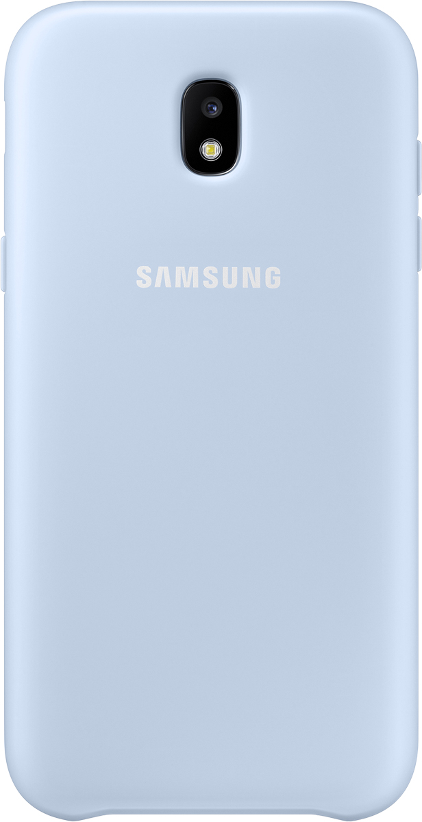 Samsung Dual Layer Cover чехол для Galaxy J5 (2017), Light Blue