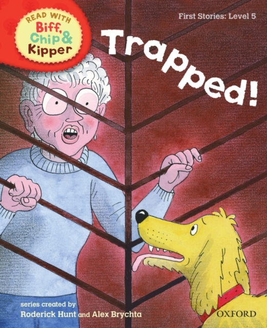 Oxford Reading Tree Read With Biff, Chip, and Kipper: First Stories: Trapped! 860 960mhz abs rfid uhf anti metal tag with alien h3 chip read range 0 8m for warehouse management