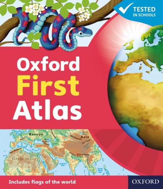 Oxford First Atlas Paperback 2011 collins student world atlas cd