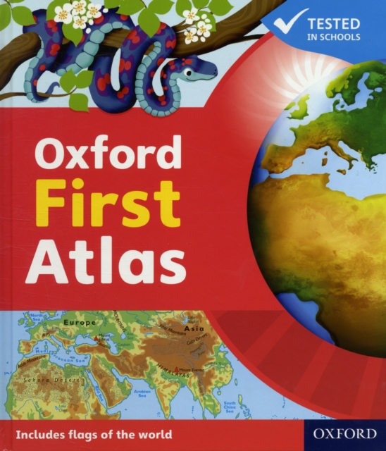 Oxford First Atlas Hardback 2011 collins student world atlas cd