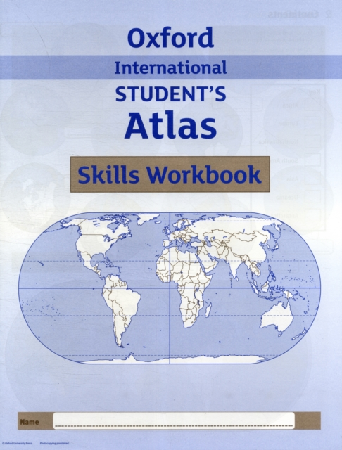 Oxford International Student's Atlas Skills Workbook (3rd ed.) the atlas