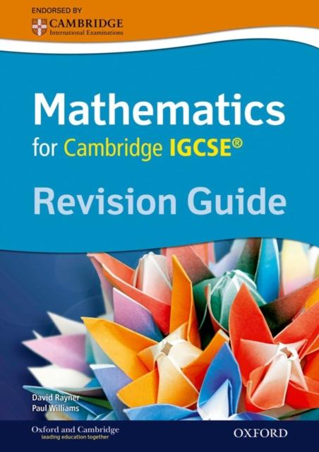 Complete Mathematics for Cambridge IGCSERG Revision Guide environmental management for cambridge igcse