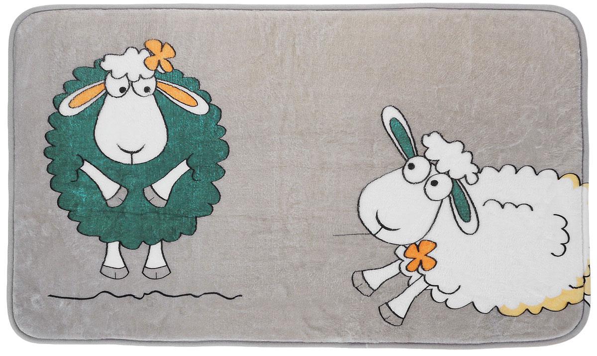 Коврик для ванной комнаты Tatkraft Funny Sheep, 50 см х 80 см полка для ванной tatkraft mega lock