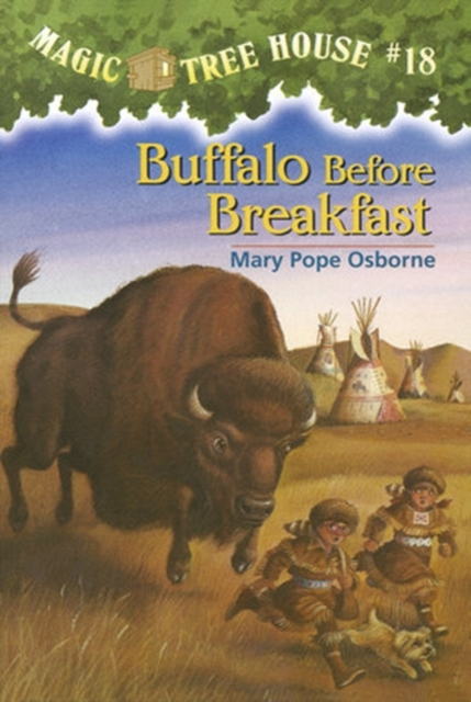 Magic Tree House #18: Buffalo Before Breakfast кеды buffalo buffalo bu342awkga54