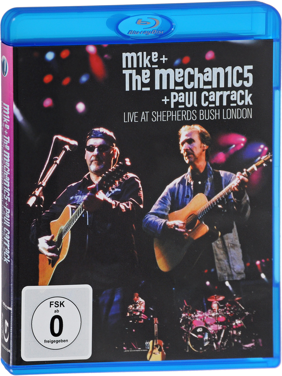 Mike & The Mechanics: Live At Shepherds Bush With Paul Carrack (Blu-ray) paul carrack london