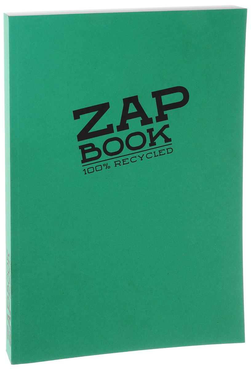 Блокнот Clairefontaine Zap Book, цвет, зеленый, формат A4, 160 листов3354С_зеленыйБлокнот Clairefontaine Zap Book, цвет, зеленый, формат A4, 160 листов