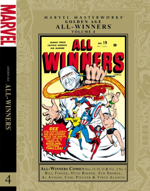 Marvel Masterworks: Golden Age All-Winners - Volume 4