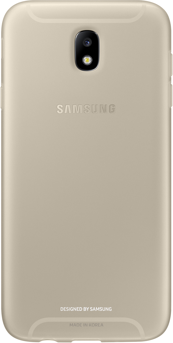 Samsung Jelly Cover чехол для Galaxy J7 (2017), Gold - Чехлы