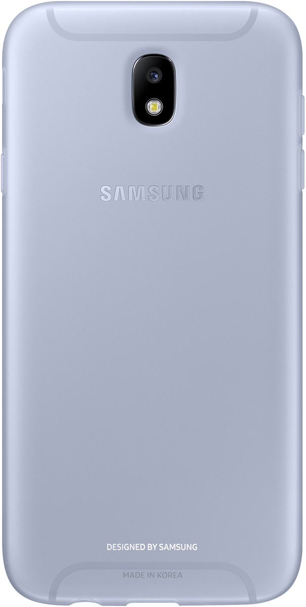 Samsung Jelly Cover чехол для Galaxy J7 (2017), Light Blue - Чехлы