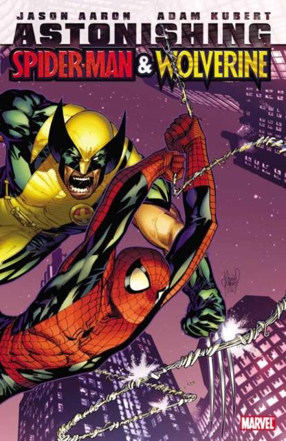 Astonishing Spider-Man & Wolverine игровой набор spider man паутинные крылья