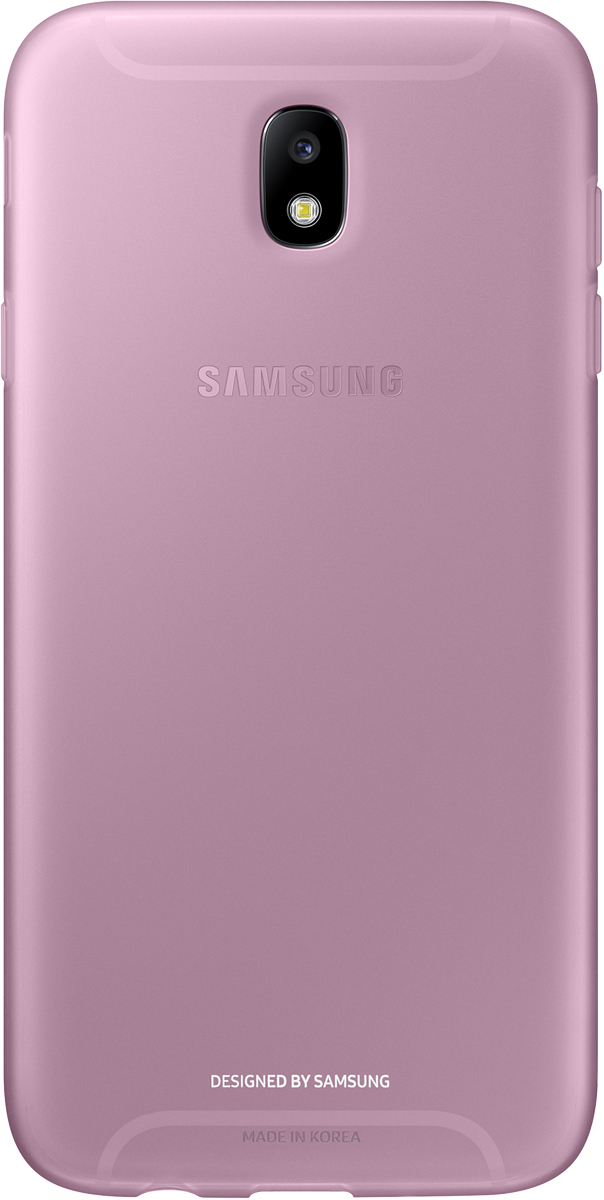 Samsung Jelly Cover чехол для Galaxy J7 (2017), Pink - Чехлы