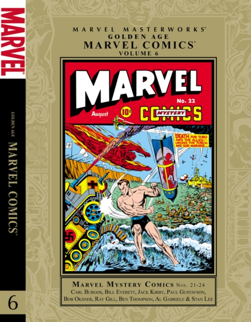 Marvel Masterworks: Golden Age Marvel Comics - Volume 6 silwerhof канцелярский набор детский marvel comics 6 предметов