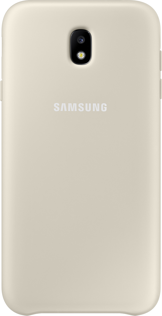 Samsung Dual Layer Cover чехол для Galaxy J7 (2017), Gold