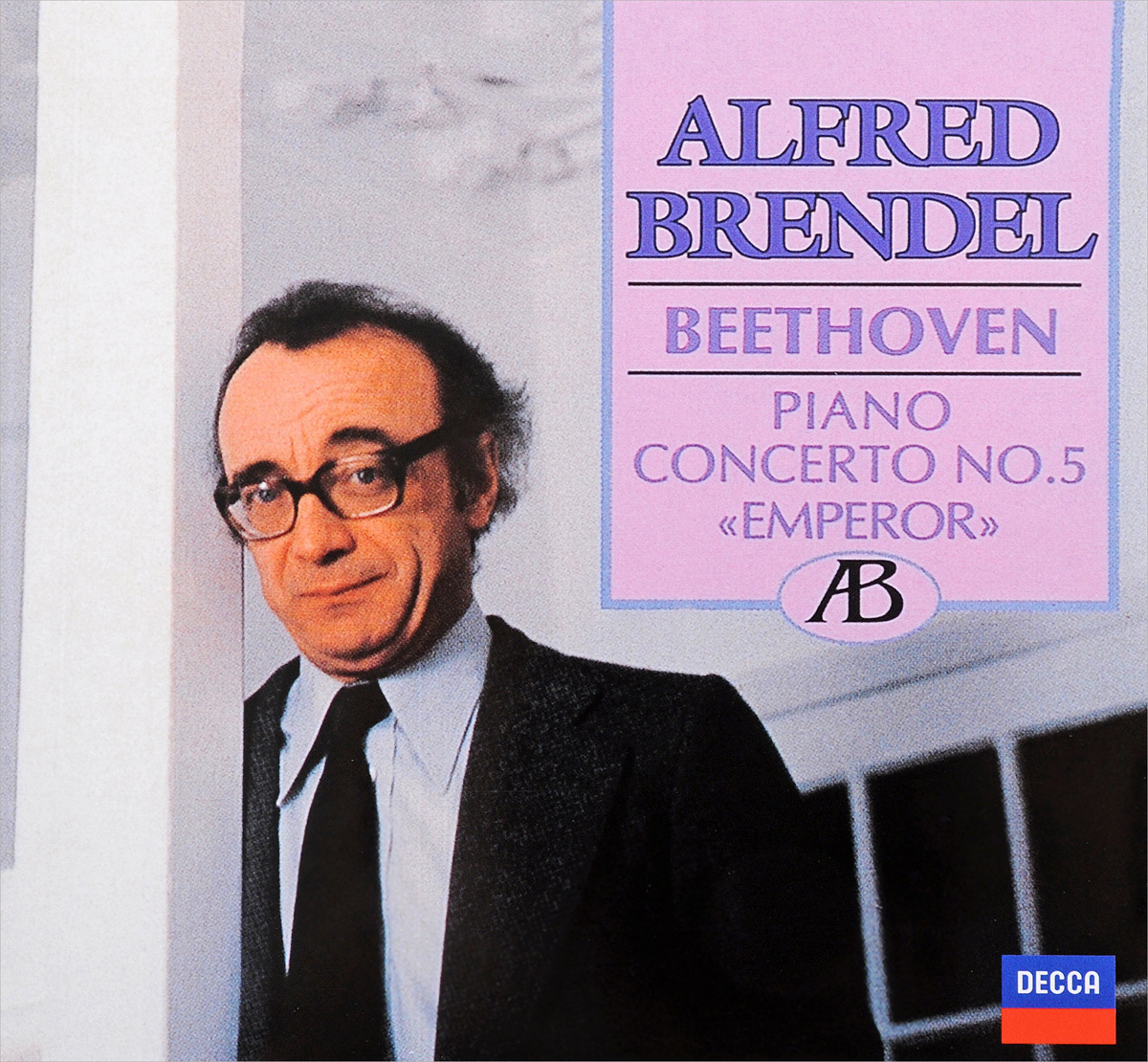 Alfred Brendel. Beethoven: Piano Concerto No.5; Fantasia in C minor