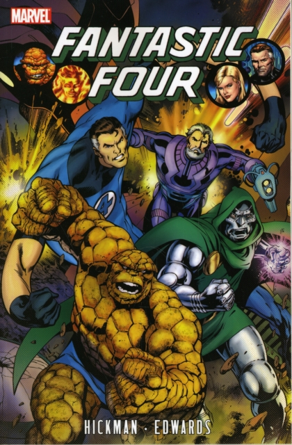 Fantastic Four by Jonathan Hickman - Volume 3 nexus confessions volume four