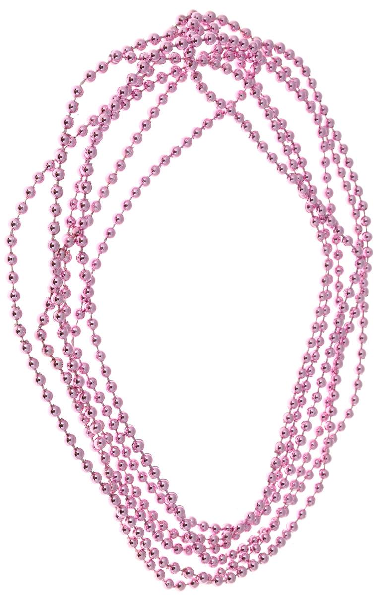 Гирлянда новогодняя Magic Time, цвет: розовый, длина 2,7 м.76083_розовыйГирлянда новогодняя Magic Time, цвет: розовый, длина 2,7 м.