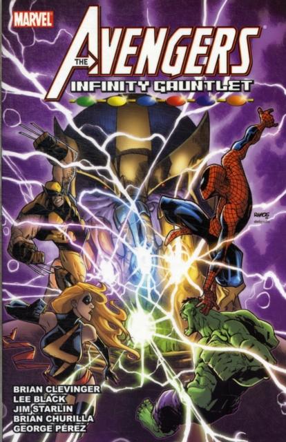 Avengers & the Infinity Gauntlet the gauntlet