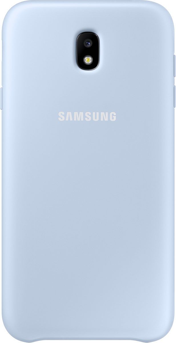 Samsung Dual Layer Cover чехол для Galaxy J7 (2017), Light Blue galaxy gl 4922 blue pink насадки к наборам для педикюра