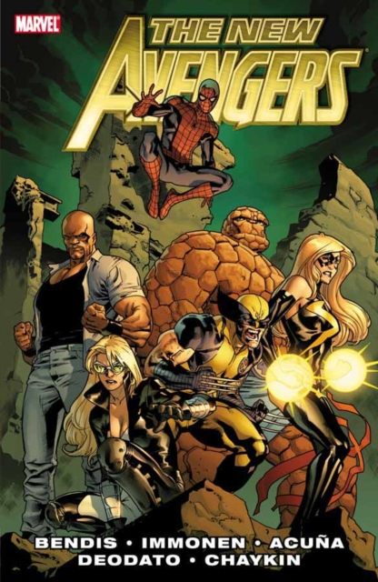 New Avengers By Brian Michael Bendis - Volume 2 new avengers by brian michael bendis the complete collection vol 5