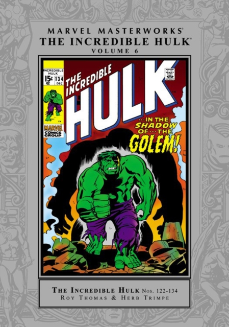 Marvel Masterworks: The Incredible Hulk - Volume 6 s s ледянка marvel hulk