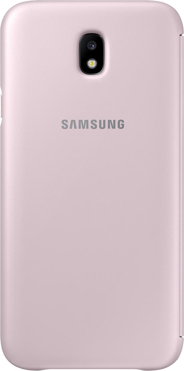 Samsung Wallet Cover чехол для Galaxy J7 (2017), Pink