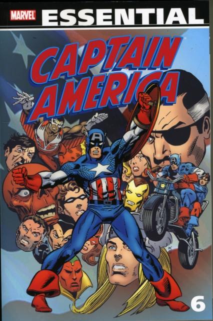 Essential Captain America - Volume 6