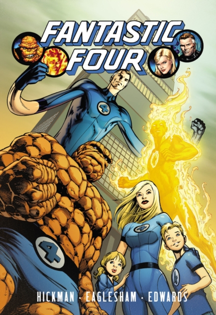 Fantastic Four by Jonathan Hickman - Volume 4 nexus confessions volume four