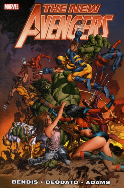 New Avengers by Brian Michael Bendis - Volume 3 bendis brian michael powers volume 14