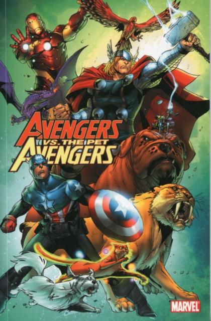 Avengers vs. Pet Avengers футболка wearcraft premium slim fit printio avengers