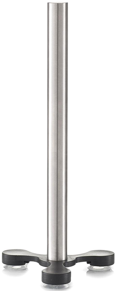 """Держатель кухонного полотенца """"Zeller"""" изготовлен из высококачественной нержавеющей стали. Основание на ножках гарантирует устойчивость подставки. Изделие оснащено дополнительным фиксатором - присосками на ножках.  Такой держатель станет полезным аксессуаром в домашнем быту и идеально впишется в интерьер современной кухни."""