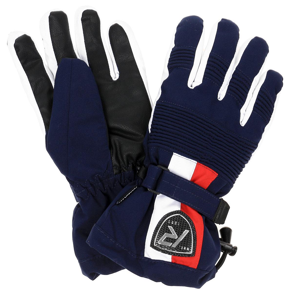 Перчатки мужские Rukka, цвет: черный. 870760241RV-999. Размер L (10/10,5)870760241RV-999Мужские теплые перчатки от Rukka выполнены из высококачественно водонепроницаемого материала. На запястье дополнены ремешком на липучке.