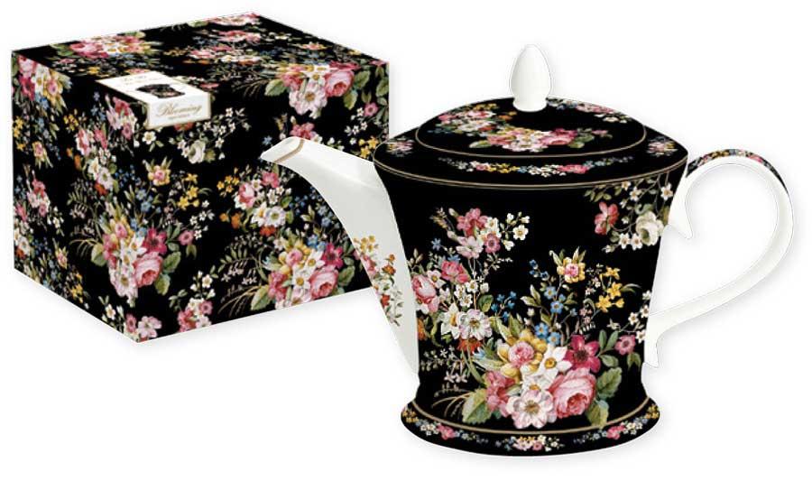 Чайник Nuova R2S Цветочный карнавал, цвет: черный, 1,0 л. R2S1350/BLOB-AL4602009416675_мореЧайник объемом 1,0 л Цветочный карнавал. Концепция выпускаемой продукции заключается в создании единой дизайнерской линии предметов сервировки стола, оформления интерьера кухни или столовой комнаты. Вся продукция производится из современных и экологически чистых материалов: фарфора, стекла, пластика и дерева. Продукция компании NUOVA R2S отличается современным дизайном, и легкостью в эксплуатации. Компания работает в тесном сотрудничестве с лучшими итальянскими художниками и дизайнерами.