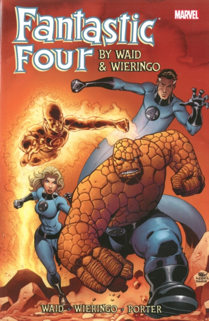 Fantastic Four by Waid & Wieringo Ultimate Collection Book 3 four a divergent collection