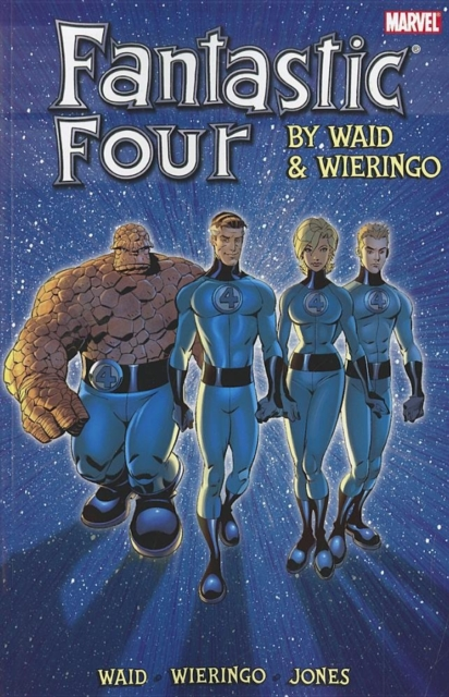 Fantastic Four by Waid & Wieringo Ultimate Collection Book 2 four a divergent collection