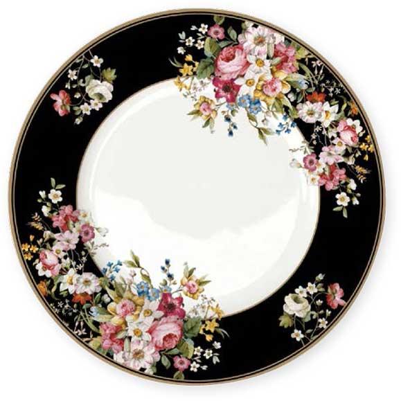 Тарелка обеденная Nuova R2S Цветочный карнавал, цвет: черный, диаметр 26,5 см. R2S1359/BLOB-ALR2S1359/BLOB-ALТарелка обеденная Nuova R2S Цветочный карнавал,выполненная из высококачественного фарфора,декорирована оригинальным рисунком. Изящныйдизайн придется по вкусу и ценителям классики, и тем,кто предпочитает утонченность.Тарелка обеденная Nuova R2S Цветочный карнавалидеально подойдет для сервировки стола и станетотличным подарком к любому празднику.