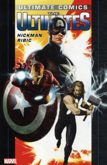 Ultimate Comics Ultimates by Jonathan Hickman - Volume 1 jonathan simkhai повседневные шорты