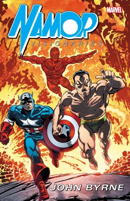 Namor Visionaries by John Byrne - Volume 2 marvel masters the art of john byrne