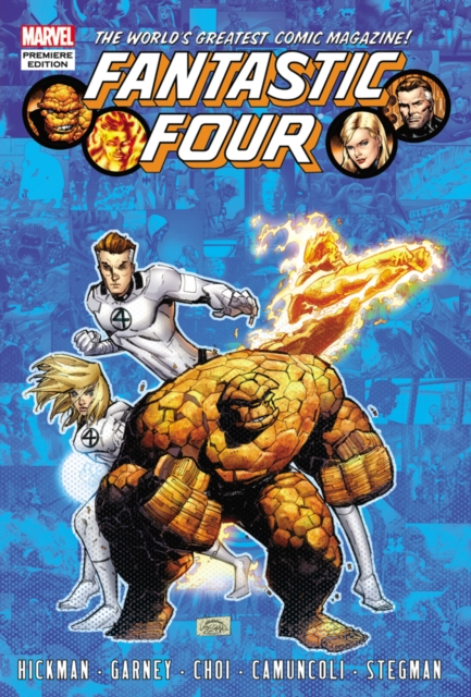 Fantastic Four by Jonathan Hickman - Volume 6 nexus confessions volume four