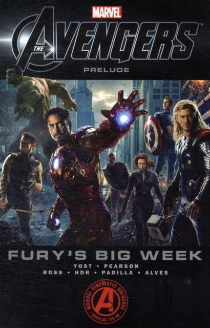 Marvel's The Avengers Prelude uncanny avengers volume 5 axis prelude