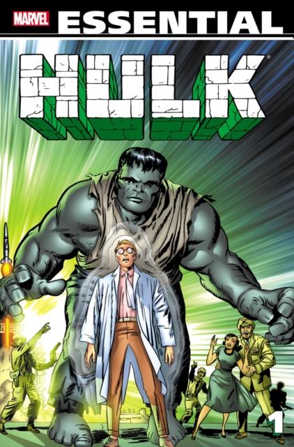 Essential Hulk Volume 1 lee stan essential hulk volume 2