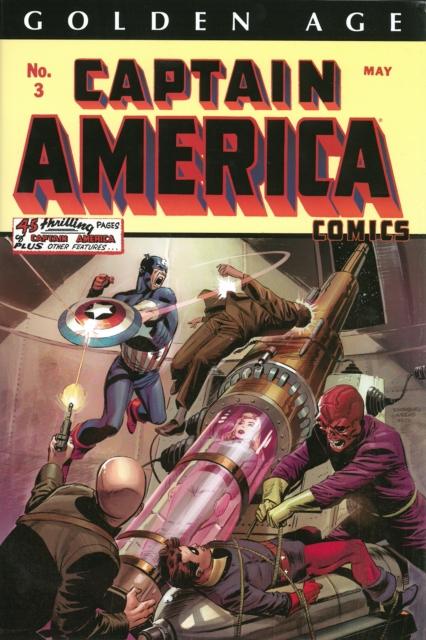 Golden Age Captain America Omnibus Volume 1 nexus omnibus volume 4