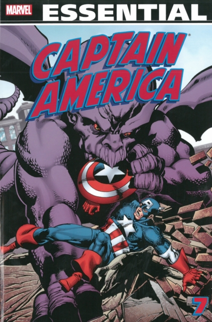 Essential Captain America - Volume 7 captain america by dan jurgens volume 3