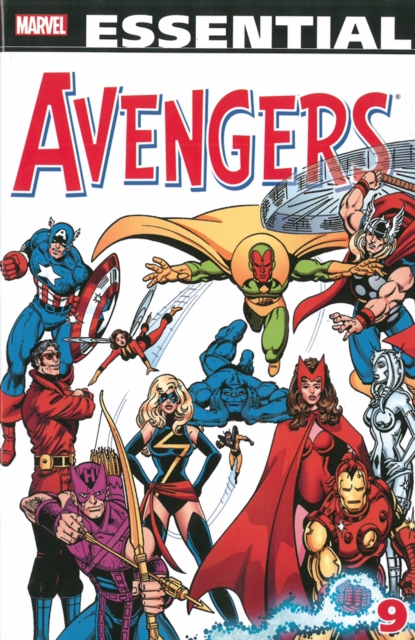 Essential Avengers Volume 9 batman volume 9 bloom