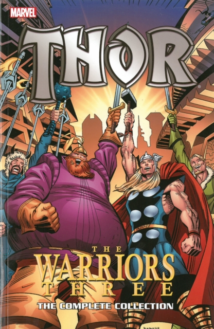 Thor: The Warriors Three hunter е warriors power of three 3 outcast